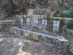 """Екопътека парк """"Златни пясъци"""" - чешма """"1300 г. България"""""""