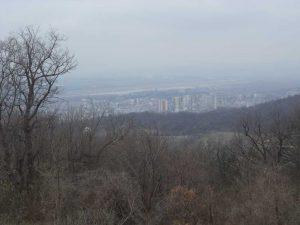 Маршрут Кочмар - Балам дере - изглед към Варна от гората над кв. Възраждане