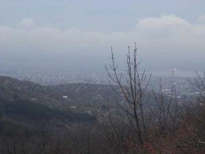 Маршрут Кочмар - Балам дере - изглед към Варна от поляната със заслона