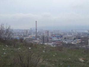 Маршрут Кочмар - Балам дере - изглед към Варна от платото над Кайсиева градина