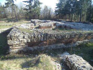 Останките на раннохристиянска базилика край кв. Аспарухово - общ план