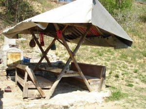 Място за пикник в рибарското селище над плаж Папаз кулак