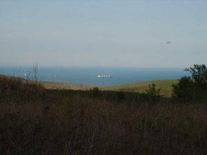 """Красива панорама към Паша дере от възвишението над поделение """"Родни балкани"""""""