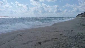 Плажа на Паша дере - красиво вълнение