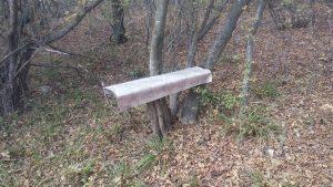 Маршрут Аксаково - Калиманци - пейка за почивка в гората