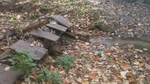 Маршрут Аксаково - Калиманци - дървен мост над малка рекичка