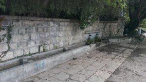 """Екопътека парк """"Златни пясъци"""" - чешмата пред Аладжа манастир"""