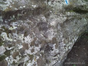Мадарско плато - скални стъпала (мечите стъпки)