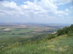 Изглед от Мадарското плато