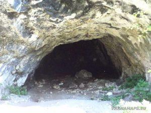 Сухата река - малката пещера край Оногур отвътре