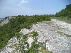 """Крепост """"Овеч"""" - скално плато Табията"""
