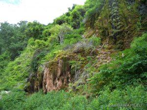 Водопад Совата - поглед от далече