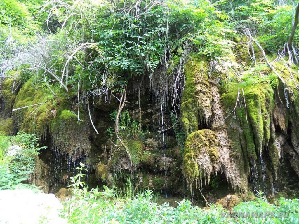 Водопад Совата - общ изглед