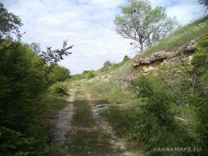Красиво място по маршрута за водопад Совата