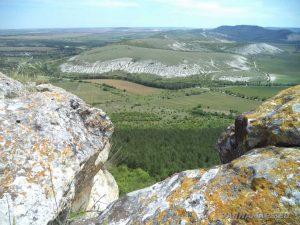 Панорамен изглед от Голямото було
