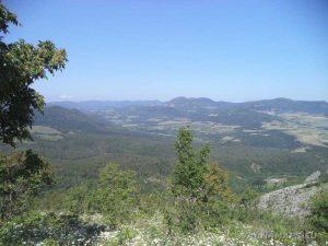 По маршрута до връх Коджа Кая - панорамна гледка към планинските масиви