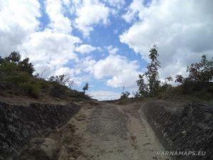 Античен скален път към Рояшкото плато