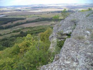 Местност Тъпаните - панорамен изглед към равнината