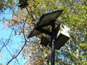 """Осветителни соларни лампи в екопътека """"Калето"""""""
