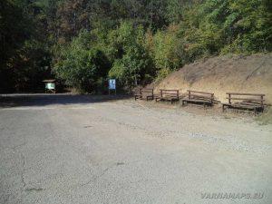 """Екопътека """"Калето"""" - паркинг в началото на маршрута"""