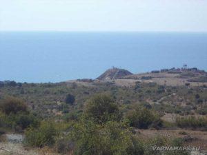 Панорамна гледка към нос Емине от с. Емона