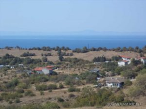Панорамна гледка към с. Емона