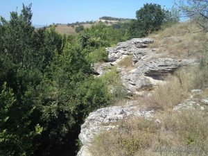 """Скалите над скален манастир """"Монасите"""""""