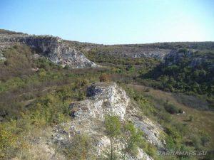 """Страхотна панорама към каньона на """"Седемте одаи"""""""