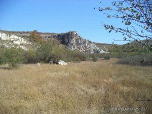 Голямата канара - поглед от дъното на каньона