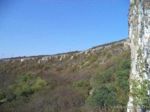 Изглед към стените на каньона от Голямата канара