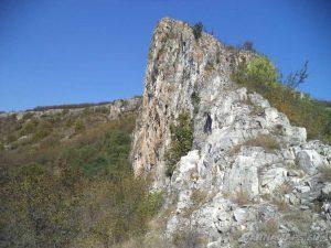 Голямата канара - изглед отстрани