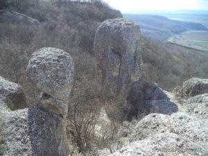 """""""Петрич кале"""" - уникални скални образувания на платото"""