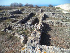 Нос Калиакра - останки от антична църква