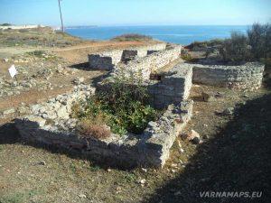 Нос Калиакра - останки от стара Римска баня