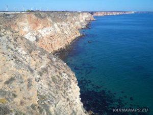 Нос Калиакра - панорамен изглед към Северното Черноморие