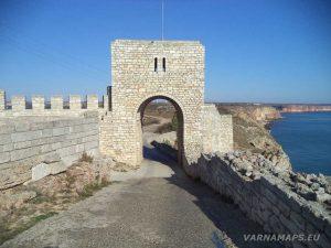 Нос Калиакра - крепостната порта на Третия отбранителен вал