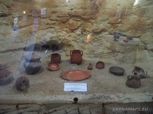 """Музей """"Калиакра"""" - глинени съдове"""