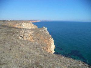 Красива гледка към Шабла по маршрута нос Калиакра - залив Болата