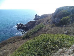 """Резерват """"Яйлата"""" - изглед от скалите при границата на резервата"""