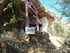 """Резерват """"Яйлата"""" - входа на скална църква """"Св. Константин и Елена"""