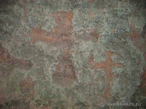 """Резерват """"Яйлата"""" - издълбаните в стената, кръстове в скална църква """"Св. Константин и Елена"""