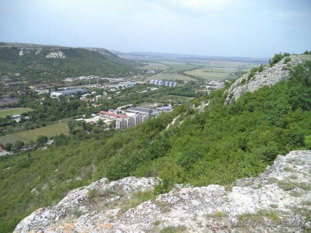 Крепост Овеч - изглед към Провадия