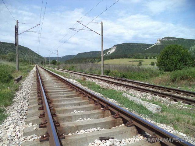 ЖП линията под Голямото було