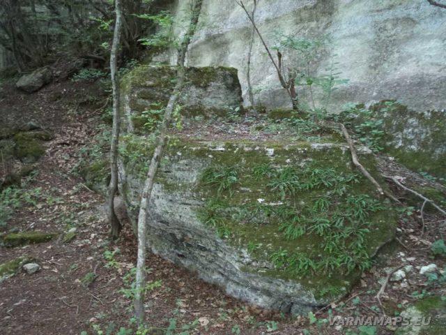 Кирека - скално образувание Катера