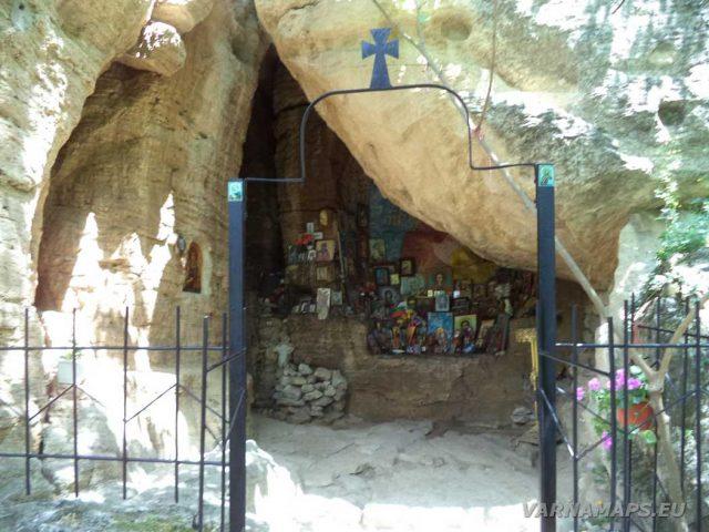 Скален манастир Свети Пантелеймон