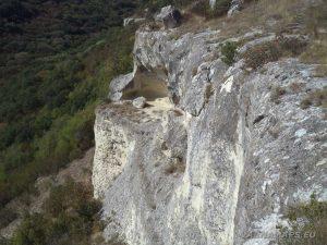 Голямото було - скална тераса под скалите