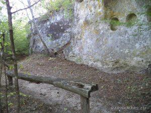 Екопътека Батаклията - Тракийското светилище - поглед отстрани