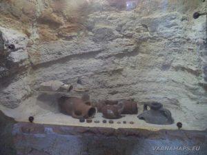 Нос Калиакра - експонати в музея