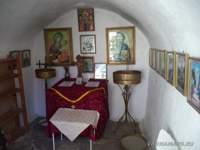 Нос Калиакра - параклис Св. Николай