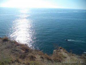Нос Калиакра - поглед към морето